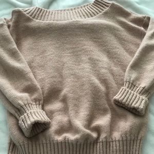Sweaters - Ladies off the shoulder sweater